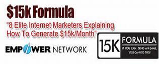 15k formula empower network