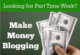 Earn Money From Home by Blogging daily