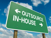 Comparing In-house Work and Outsourced Work
